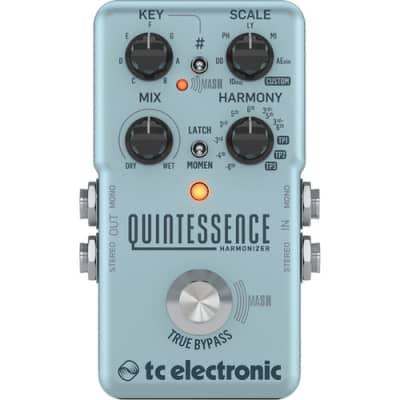 TC Electronic Quintessence Dual-Voiced Harmony Pedal w/ MASH Technology