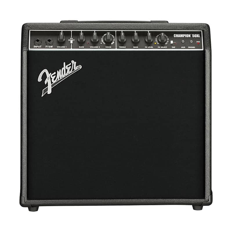 fender champion 50xl 2 channel 50 watt 1x12 solid state reverb. Black Bedroom Furniture Sets. Home Design Ideas