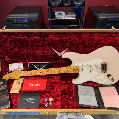 Fender Stratocaster Custom Shop NAMM Time Capsule Mary Kaye '57 Stratocaster LIMITED EDITION White blonde for sale