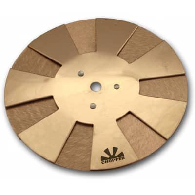 "Sabian CH12 Chopper Effects Cymbal 12"" Medium Heavy Bronze Finish White Noise"