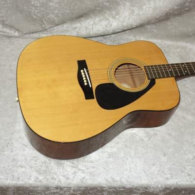 Yamaha FG-401 acoustic guitar with hardshell case for sale