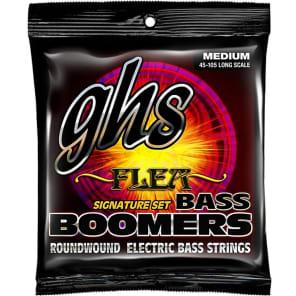 GHS M3045F Flea Signature Boomers Bass Guitar Strings - Medium (45-105)