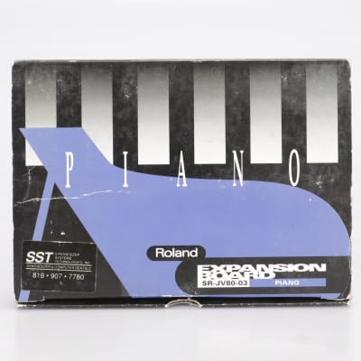 Roland SR-JV80-03 Piano Expansion Board Sound Card #41661