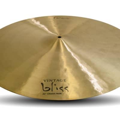 """Dream Cymbals VBCRRI22 Vintage Bliss 22"""" Crash/Ride VBCRRI22-U"""