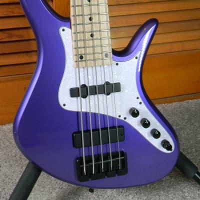 2021 Benavente DCDVJ52434 5 String Electric Bass Plum Crazy Brand New Authorized dealer ! for sale