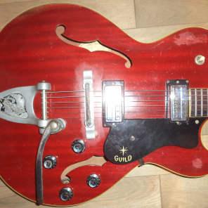 Guild Starfire III Cherry 1963
