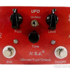 HomeBrew Electronics UFO Ultimate Fuzz Octave Pedal Red