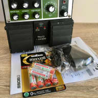 BOSS RE-20 Space Echo Twin Pedal Bundle Reverb Tape Delay Roland RE-201