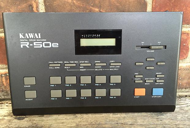 Drum Machine Midi : late 80 39 s drum machine kawai r 50e reverb ~ Hamham.info Haus und Dekorationen