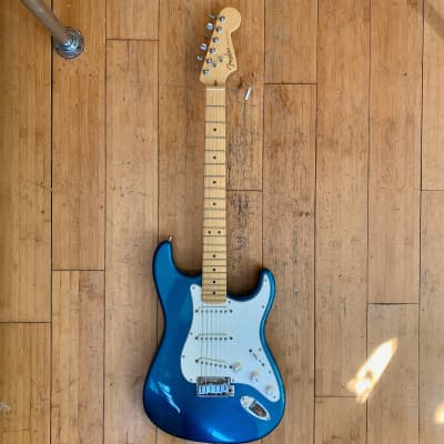 Fender American Standard Stratocaster 1999 Teal Blue/Green Mystic
