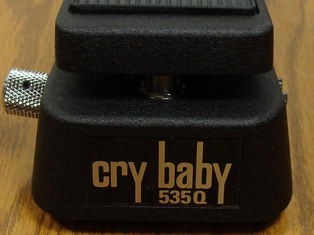New Dunlop 535q Crybaby Multi Wah Pedal Wah 535 Q Guitar