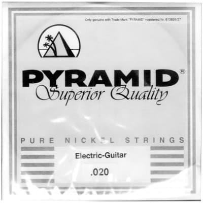 Pyramid Pure Nickel 020w Single String