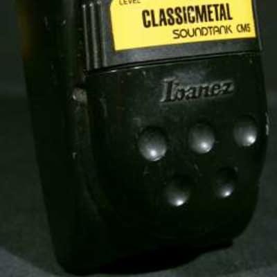 Ibanez CM-5 Classic Metal Soundtank 1990 s/n 002965 Metal case