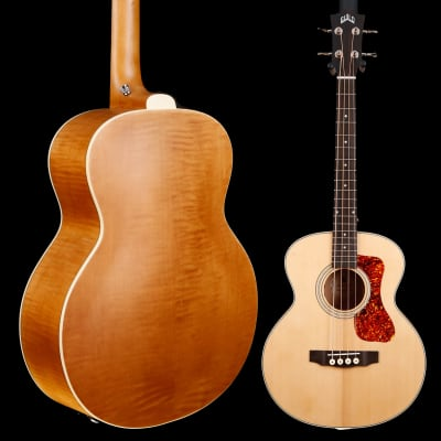 Guild Jumbo Junior Bass, Flame Maple B/S 715 3lbs 15.2oz for sale