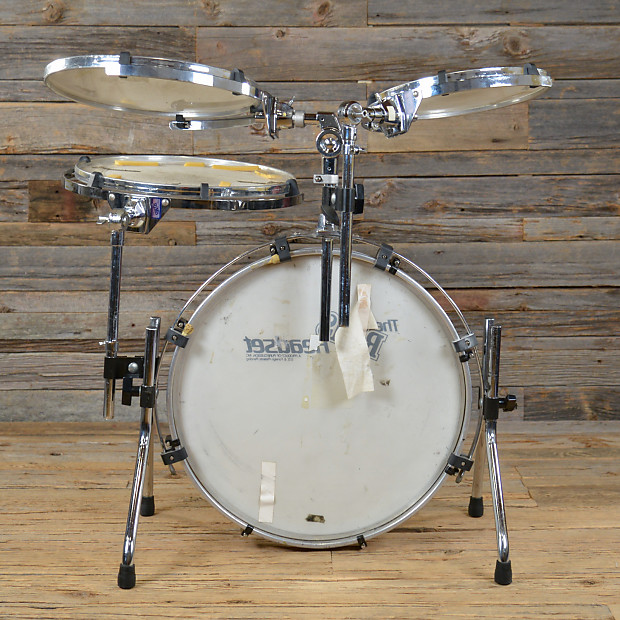 rims headset portable practice drum set 80s reverb
