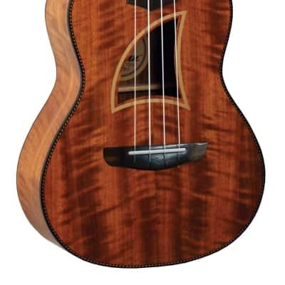 Eddy Finn EF-28-C Koa Mahogany Neck Concert Size Ukulele for sale