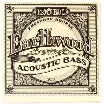 Ernie Ball P02070 Earthwood 45-95 Acoustic Bass String Set