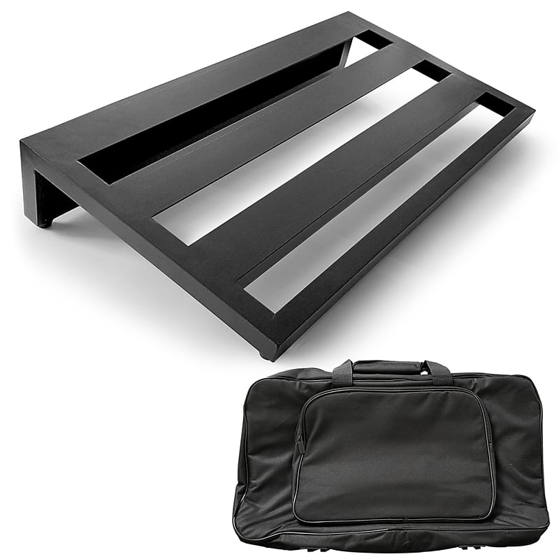 axcessables guitar pedal board lightweight aluminum with reverb. Black Bedroom Furniture Sets. Home Design Ideas