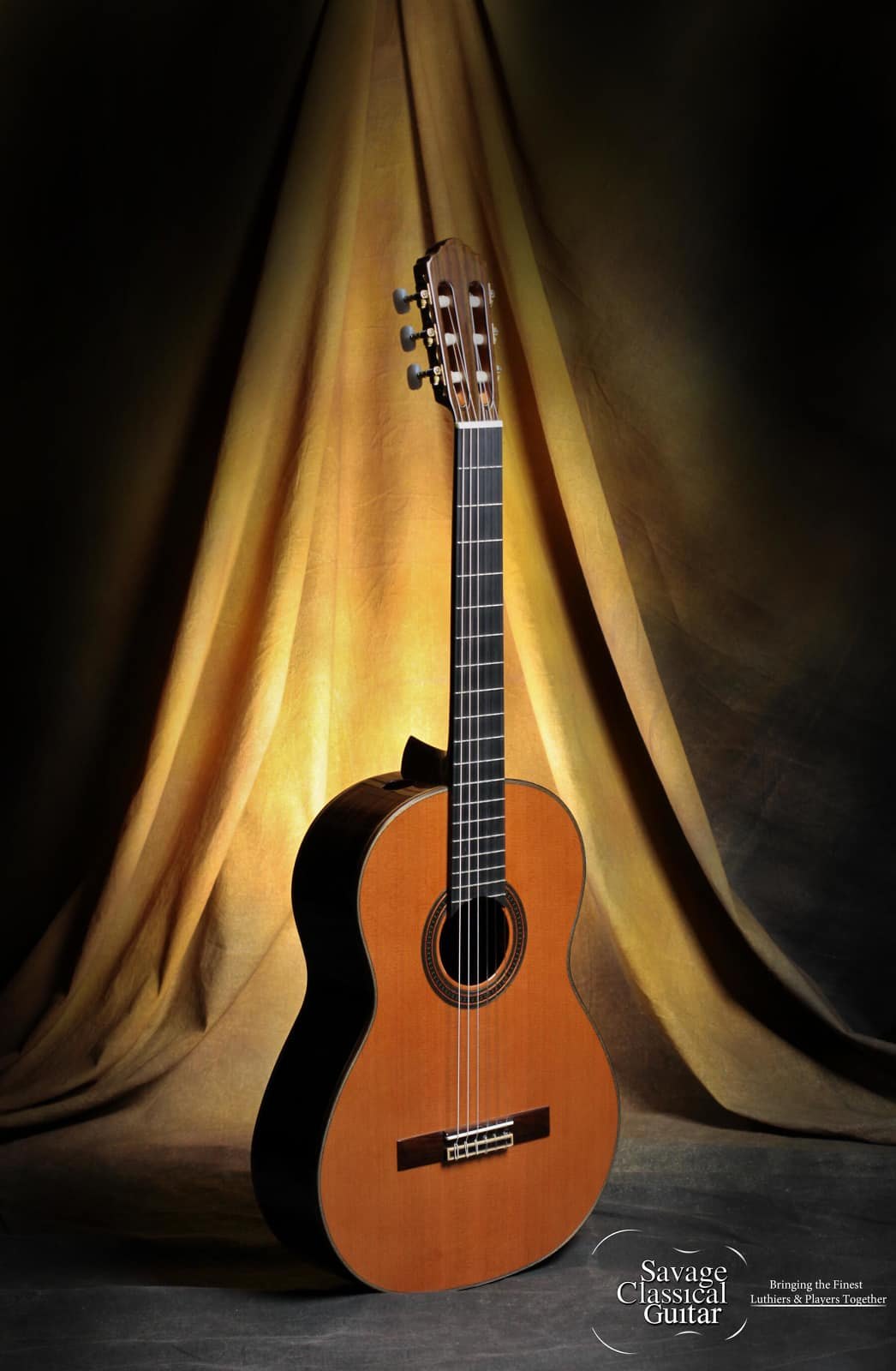 kenny hill player classical guitar 640mm with ports cedar reverb. Black Bedroom Furniture Sets. Home Design Ideas