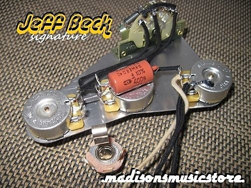 Deluxe J. Beck Signature Wiring Harness Made For Fender | Reverb