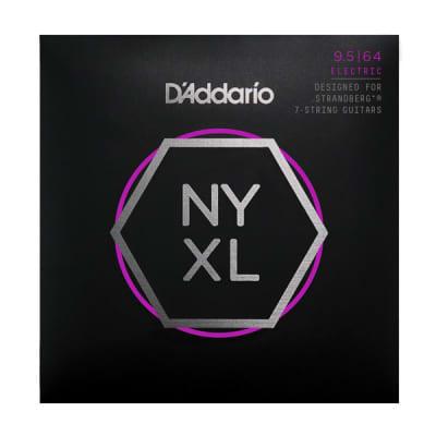 D'Addario NYXL  Optimized Tension 7 string  4 SETs