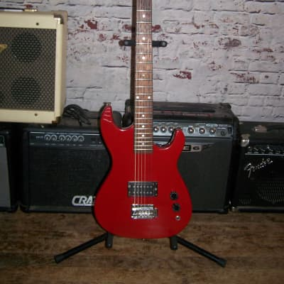 VINTAGE Tanara Strat Style Electric Guitar,  Red Finish, 1970s ? for sale