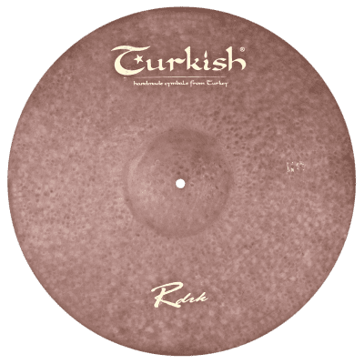 "Turkish Cymbals 21"" Raw Dark Ride"