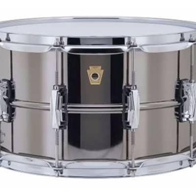 Ludwig Black Beauty 8X14 Snare Drum Supra Phonic