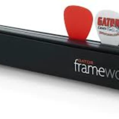 Gator Frameworks Guitar Pick & Slide Holder for Mic Stands
