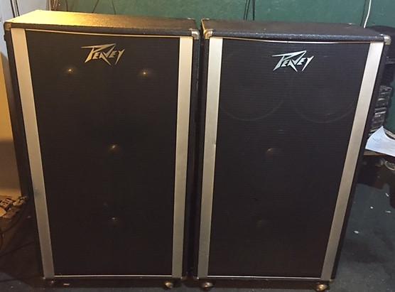 Vintage Peavey Festival 212 215 Speaker Cabinets Reverb