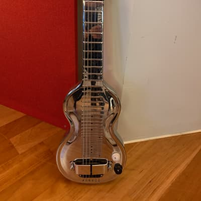 Rickenbacker Silver Hawaiian Lap Steel 1930s 30s Silver Chrome for sale