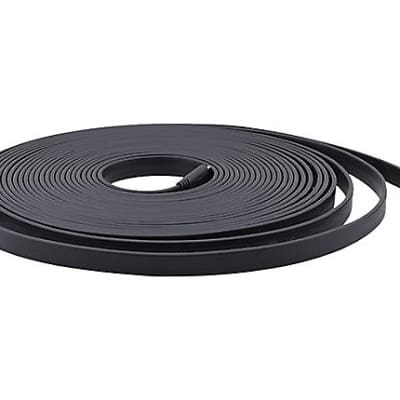 Kramer-Invisible Flat HDMI Cable, Black