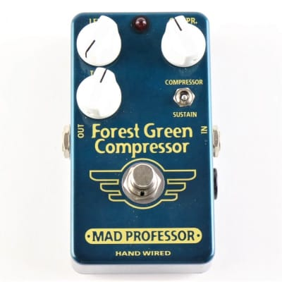 MAD PROFESSOR FOREST GREEN COMPRESSOR HW for sale