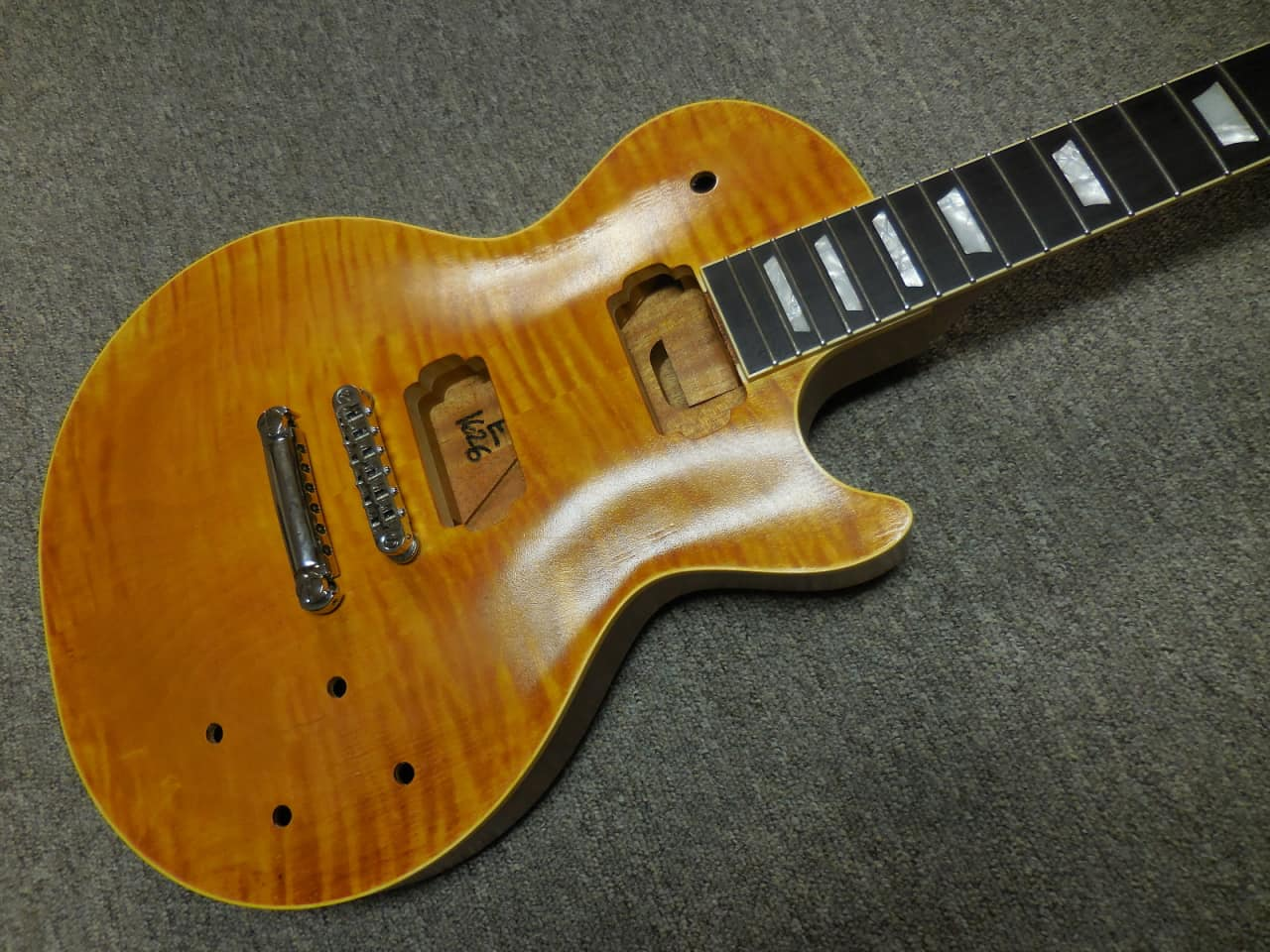 precision guitar kits les paul kit 59 carved top bound reverb