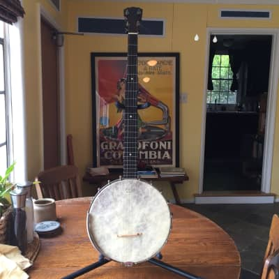 # 48-  1901 S.S. Stewart Monogram Banjo for sale