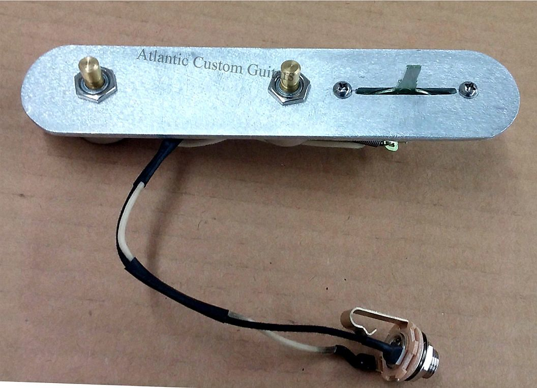 Atlantic Custom Guitars Premium Bill Lawrence 5 Way Tele Telecaster Wiring Harness Guitar 4695
