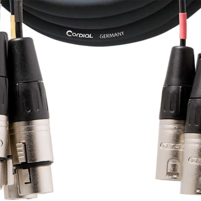 Cordial Cables 8-Channel XLR(male)-XLR(female) Snake 5 meter - 3719916 - 840126947533