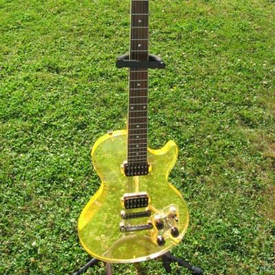 Custom Acrylic Les Paul Guitar