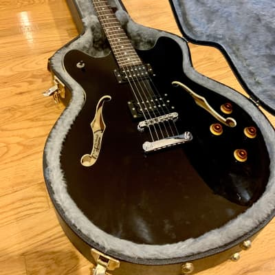Oscar Schmidt OE30-B Semi-Hollow Electric Guitar for sale