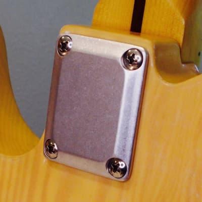 Bensonite Neck Plate - Tumbled Aluminum for sale