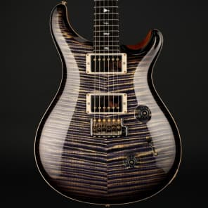 PRS Private Stock Custom 24 in Imperial Purple Smoked Burst #6726 for sale