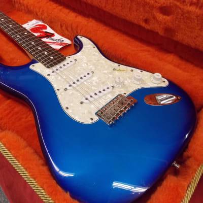 Fender Bonnie Raitt Signature Stratocaster 1996 Blue Sunburst W/Case Consignment