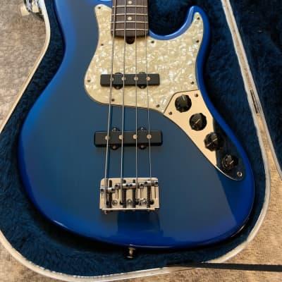 Fender American Deluxe Jazz Bass 1996 Blueburst for sale