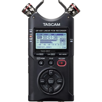 Tascam DR-40X Four Track Digital Audio Recorder and USB Audio Interface DR40X