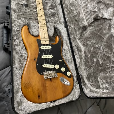 Fender Limited Edition Exotic Collection American Vintage '59 Pine Stratocaster Natural 2017 for sale