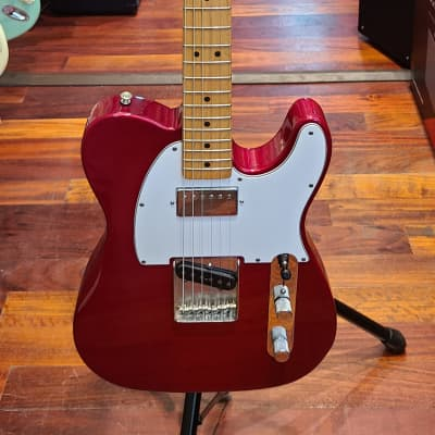 Fender Fat Tele Telecaster California series Metallic Red with Fender hard case for sale