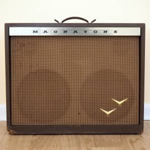 "Magnatone Model 280 Custom 200 Series 2-Channel 50-Watt 2x12"" Guitar Combo"