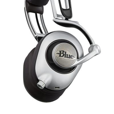 Blue Microphones Lola Ergonomically Hi-Fi Headphones White Model Blue Mics BLUM01R