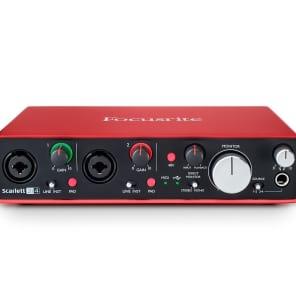 Focusrite Scarlett 2i4 USB 2.0 Audio Interface