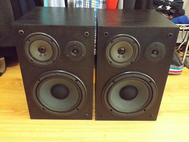 Yamaha NS A635A Passive Studio Monitors Bookshelf Speakers Pair Excellent